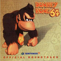 Donkey Kong 64 soundtrack front cover