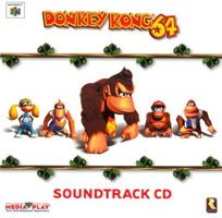 DK64 soundtrack by Media Play front cover