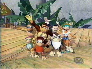 donkey kong country cast